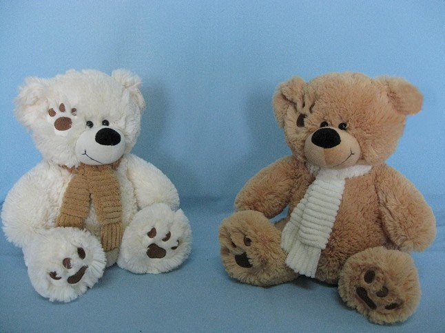 Stuffed Teddy Bears With Embroidery Foot