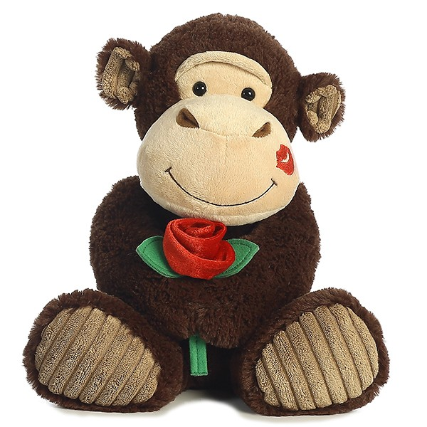 Valentines Day Gifts Plush Monkey toys